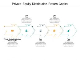 Private Equity Distribution Return Capital Ppt Powerpoint Presentation Layouts Ideas Cpb