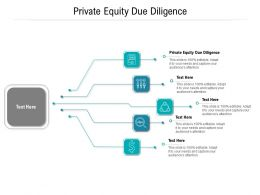 Private Equity Due Diligence Ppt Powerpoint Presentation Ideas Outfit Cpb