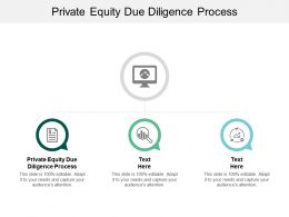 Private Equity Due Diligence Process Ppt Powerpoint Presentation Ideas Guide Cpb