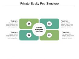 Private Equity Fee Structure Ppt Powerpoint Presentation Outline Slide Cpb