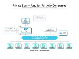 Private Equity Fund For Portfolio Companies