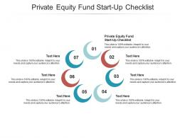 Private Equity Fund Start Up Checklist Ppt Powerpoint Presentation Summary Brochure Cpb
