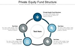 Private Equity Fund Structure Ppt Powerpoint Presentation Model Portfolio Cpb