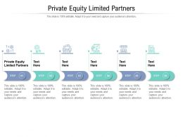 Private Equity Limited Partners Ppt Powerpoint Presentation Professional Backgrounds Cpb