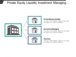 Private Equity Liquidity Investment Managing Decision Risk Analysis Cpb