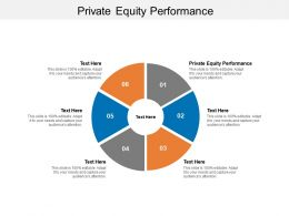 Private Equity Performance Ppt Powerpoint Presentation Summary Topics Cpb
