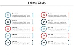 Private Equity Ppt Powerpoint Presentation Pictures Graphics Example Cpb