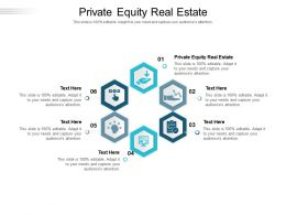 Private Equity Real Estate Ppt Powerpoint Presentation File Picture Cpb