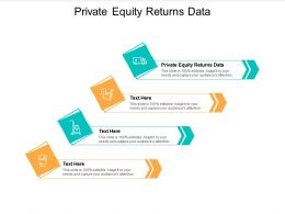 Private Equity Returns Data Ppt Powerpoint Presentation Ideas Samples Cpb