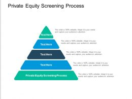 Private Equity Screening Process Ppt Powerpoint Presentation Visual Aids Deck Cpb