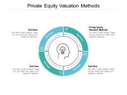 Private Equity Valuation Methods Ppt Powerpoint Presentation Pictures Show Cpb