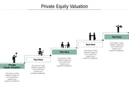 Private Equity Valuation Ppt Powerpoint Presentation Summary Slides Cpb