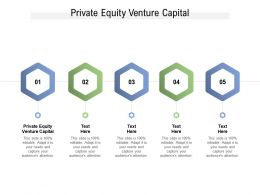 Private Equity Venture Capital Ppt Powerpoint Presentation Icon Inspiration Cpb