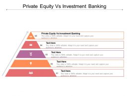 Private Equity Vs Investment Banking Ppt Powerpoint Presentation Outline Design Templates Cpb