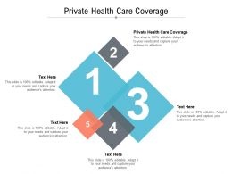 Private Health Care Coverage Ppt Powerpoint Presentation Infographic Template Background Designs Cpb