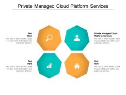 Private Managed Cloud Platform Services Ppt Powerpoint Presentation Show Portrait Cpb