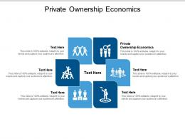 Private Ownership Economics Ppt Powerpoint Presentation Slides Model Cpb