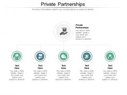 Private Partnerships Ppt Powerpoint Presentation Model Show Cpb