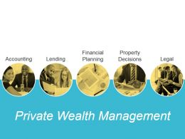 Private Wealth Management Powerpoint Slide Influencers