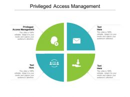 Privileged Access Management Ppt Powerpoint Presentation Gallery Show Cpb