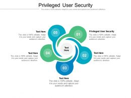 Privileged User Security Ppt Powerpoint Presentation Icon Display Cpb