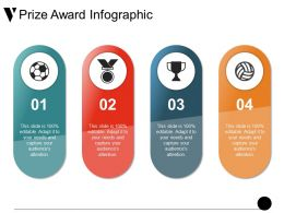 Prize Award Infographic Ppt Sample