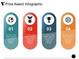 Prize Award Infographic Ppt Sample