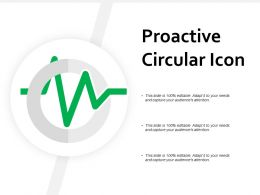 Proactive Circular Icon
