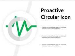Proactive Circular Icon