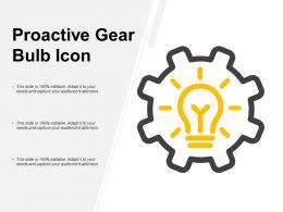 Proactive Gear Bulb Icon