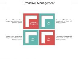 Proactive Management Ppt Powerpoint Presentation Infographics Graphics Tutorials Cpb