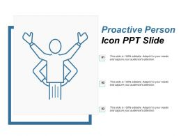Proactive Person Icon