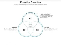 Proactive Retention Ppt Powerpoint Presentation Portfolio Background Designs Cpb