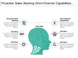 Proactive Sales Banking Omni Channel Capabilities Stock Strategy Cpb