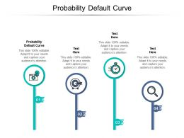 Probability Default Curve Ppt Powerpoint Presentation Icon Slides Cpb