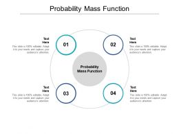 Probability Mass Function Ppt Powerpoint Presentation Introduction Cpb