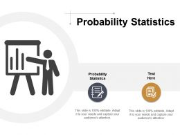 Probability Statistics Ppt Powerpoint Presentation Summary Images Cpb