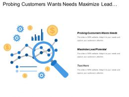 Probing Customers Wants Needs Maximize Lead Potential Real Time Visibility