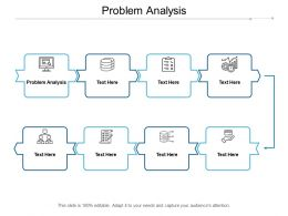 Problem Analysis Ppt Powerpoint Presentation Layouts Diagrams Cpb