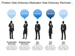 Problem Data Dictionary Medication Data Dictionary Reminder Alert