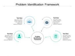 Problem Identification Framework Ppt Powerpoint Presentation Slides Files Cpb