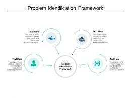 Problem Identification Framework Ppt Powerpoint Presentation Slides Files Cpb