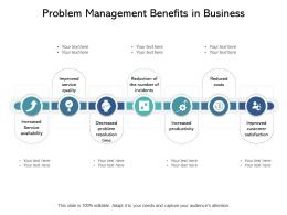 Problem Management Benefits In Business