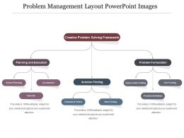Problem Management Layout Powerpoint Images