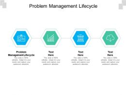 Problem Management Lifecycle Ppt Powerpoint Presentation Slides Graphics Download Cpb