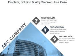 problem_solution_and_why_we_won_use_case_ppt_slides_Slide01