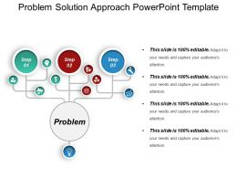 Problem Solution Approach Powerpoint Template