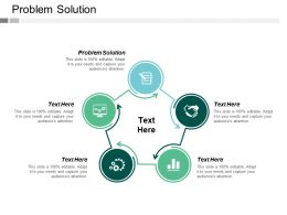 Problem Solution Ppt Powerpoint Presentation Gallery Samples Cpb