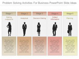 Problem Solving Activities For Business Powerpoint Slide Ideas