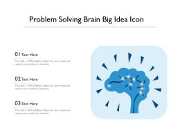 Problem Solving Brain Big Idea Icon